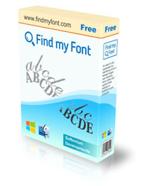 Find my Font Free Box