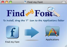 Find my Font Installer